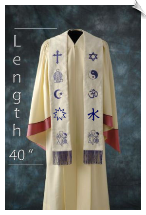 Medium Custom Interfaith Stole
