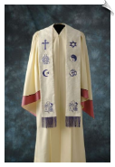 Oneness Interfaith Stole, Medium